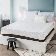 "HoMedics Therapy+ 12"" Gel Memory Foam Mattress"