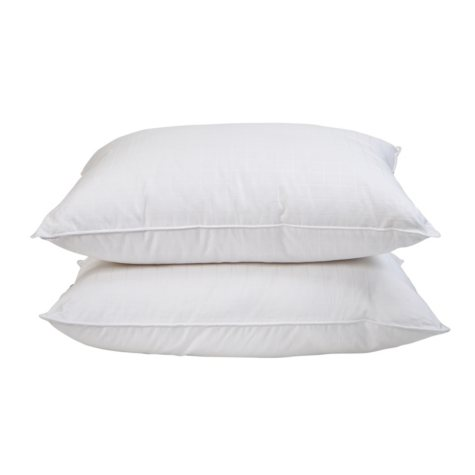 HomeLuxe Window Pane Gel Fiber 4-Pack Soft Support Pillow