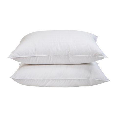 HomeLuxe Window Pane Gel Fiber 4-Pack Medium Support Pillow