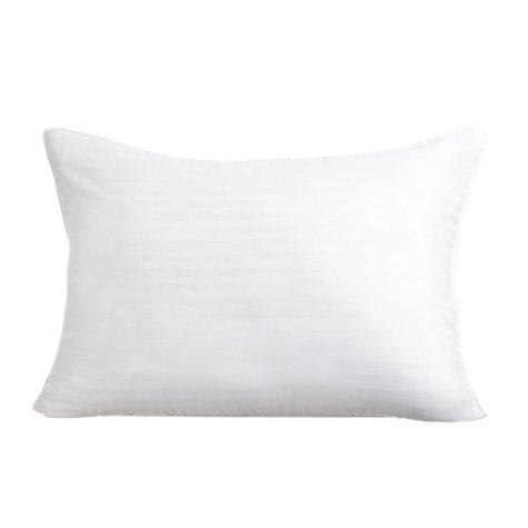 HomeLuxe Dobby Stripe Gel Fiber 2-Pack Soft Support Pillow