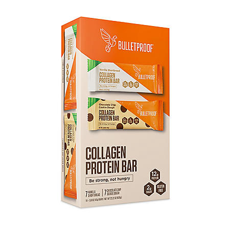Bulletproof Collagen Protein Bar Variety Pack (14 ct.)