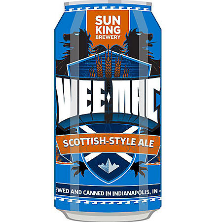 Sun King Wee-Mac Scottish-Style Ale (12 fl. oz. can, 12 pk.)