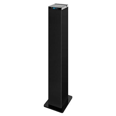 Innovative Technology  Bluetooth Tower Speaker with Digital Radio and Tablet Holder