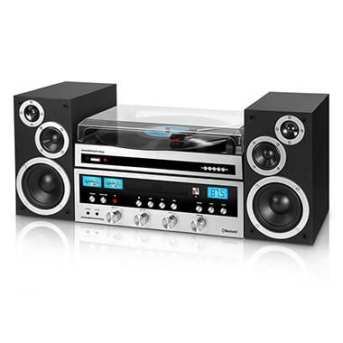 Innovative Technology Classic 50w Cd Stereo System With