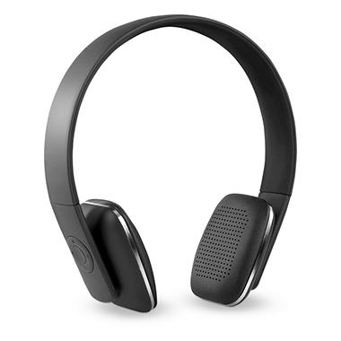 Rechargeable Wireless Bluetooth Headphones with Rubberized Finish - Various Colors