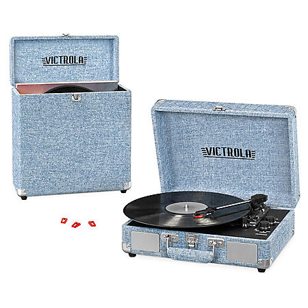 Victrola Record Player Bundle- New Spring Colors