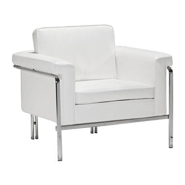 Sole Series Arm Chair, White