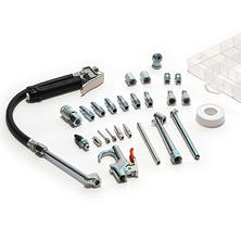 Primefit Tire Inflator with 25-pc. Accessory Kit