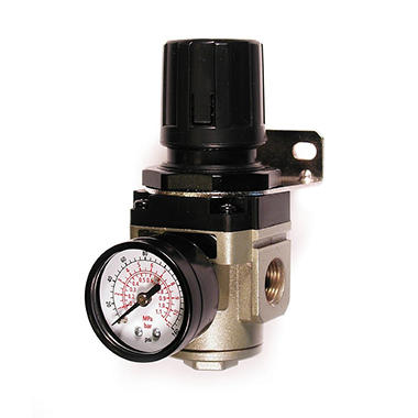 Primefit Intermediate Air Regulator - Gauge - 3/8-Inch NPT
