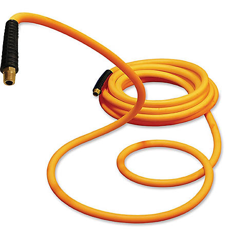 """Primefit Hybrid Polymer Air Hose with Field Repairable Ends - 1/4"""" by 50-Ft (300-PSI)"""