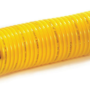 Primefit Nylon Recoil Air Hose - 1/4-Inch by 25-Foot (120-PSI)