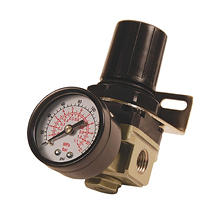 Primefit Mini Air Regulator with Gauge - 1/4-Inch NPT