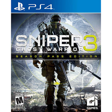 Sniper Ghost 3 Limted Edition Preorder (PS4)