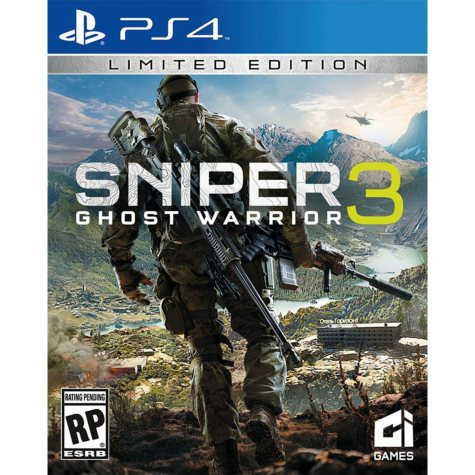 Sniper Ghost Warrior 3 Day 1 Edition (PS4)