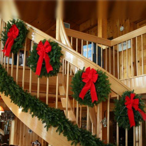 Worcester Wreath Co. Set of 4 Mini Wreaths