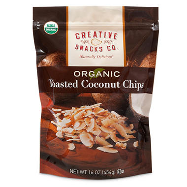 Organic Toasted Coconut Chips (16 oz.)