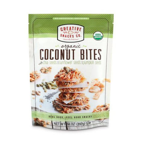 Creative Snacks Organic Coconut Bites (14 oz.)