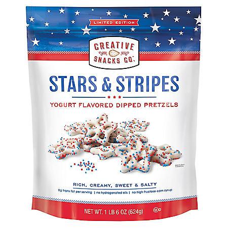 Stars & Stripes Yogurt Dipped Pretzels (22oz.)