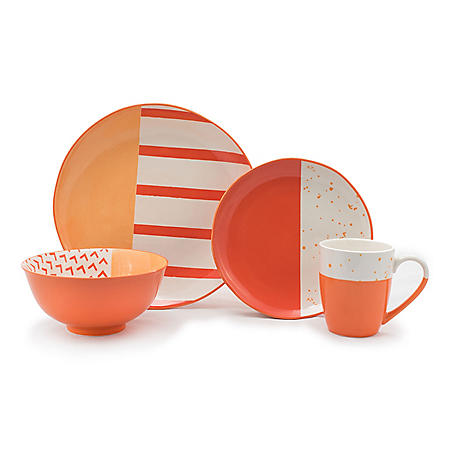 Gaia Tablescapes 16-Piece Dinnerware Set, Bliss