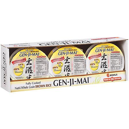GEN-JI-MAI Nutri-Whole Grain Brown Rice (6/7.4oz.)