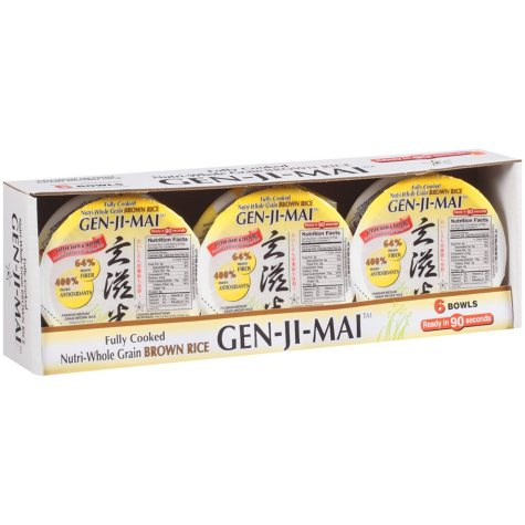 GEN-JI-MAI™ Nutri-Whole Grain Brown Rice (6/7.4oz.)
