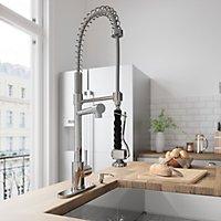 VIGO Stainless Steel Pull-Down Spray Kitchen Faucet - Sam\'s Club