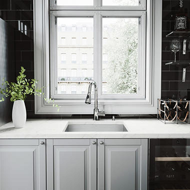 Vigo 23 Undermount Stainless Steel Kitchen Sink And Chrome Faucet