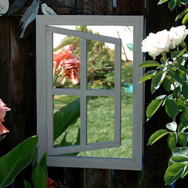 Dover Open Window Illusion Garden Mirror