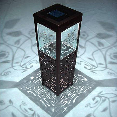 Shadows and Light Garden of Delights Solar LED Lantern