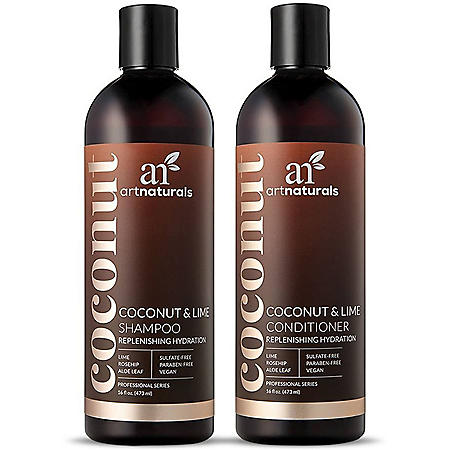Artnaturals Coconut Lime Shampoo & Conditioner Duo