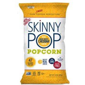 Skinnypop Popcorn Aged White Cheddar 14 Oz