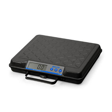 Brecknell GP100 USB Electronic Bench Scale - 100 lbs, 12x10 Platform