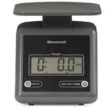 Brecknell PS7 Electronic Postage & Freight Scale, Gray