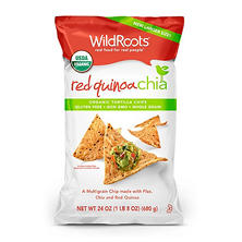 WildRoots Red Quinoa Chia Chips (24 oz.)