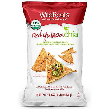 WildRoots Red Quinoa Chia Chips (16 oz.)