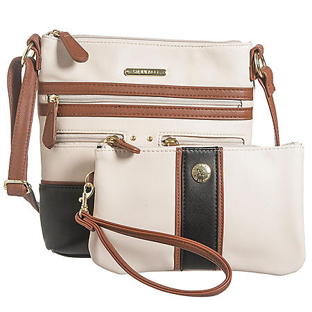 Stone & Co. Nappa Leather Crossbody and Wristlet