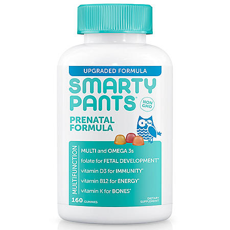 SmartyPants Prenatal Formula Gummy Multivitamin (160 ct.)