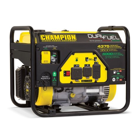 Champion Power Equipment 3500W Dual-Fuel Generator (CARB Approved)