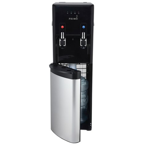 Primo Pro-Plus Bottom-Load Hot and Cold Water Dispenser, Black