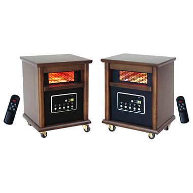 LifeSmart 4-Element Infrared Heaters - 2 pk.