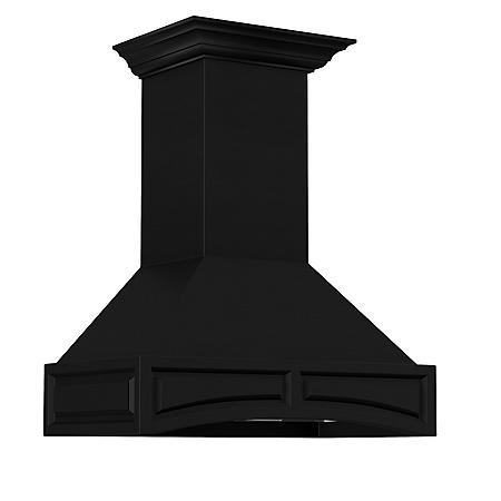 ZLINE 36-in. 1200 CFM Designer Series Wooden Wall-Mount Range Hood