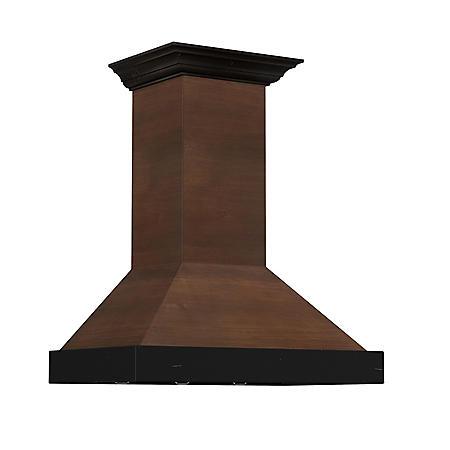 ZLINE 760 CFM Designer Series Wooden Wall-Mount Range Hood (Various Options)
