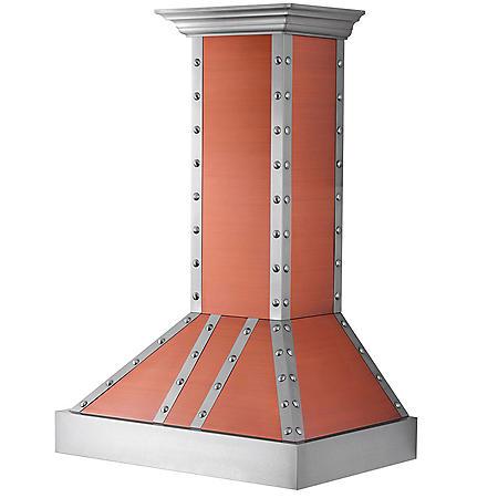 "ZLINE 30"" 900 CFM Designer Series Wall Mount Range Hood (655-CSSSS-30)"