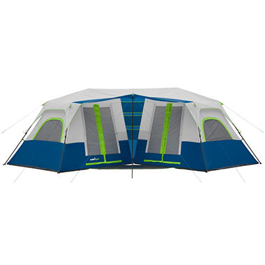Campvalley 10 Person Instant Double Villa Cabin Tent Sam