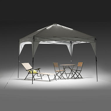 Campvalley Instant Canopy With LED Lighting System