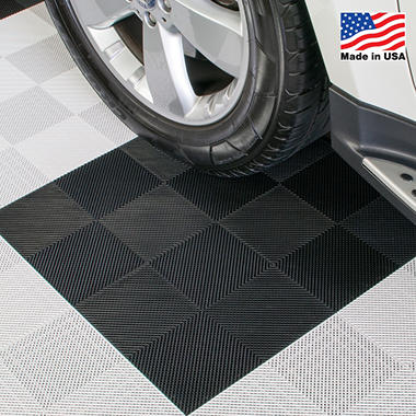 BlockTile Perforated Interlocking Garage Flooring Tiles - 12