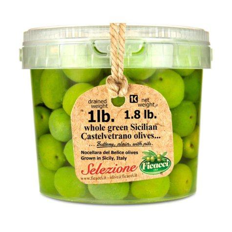 Sicilian Castelvetrano Olives (1.8 lbs.)