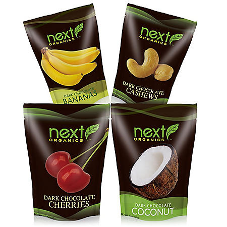 Next Organics Dark Chocolate and Fruit Variety (24 ct.)
