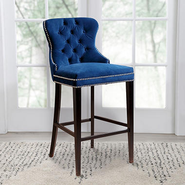 Milano Tufted Bar Stool Orted Colors