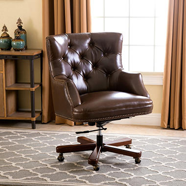 thompson leather office chair